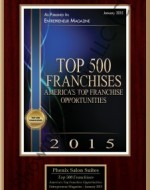 Phenix Salon Suites Top 500 Franchises