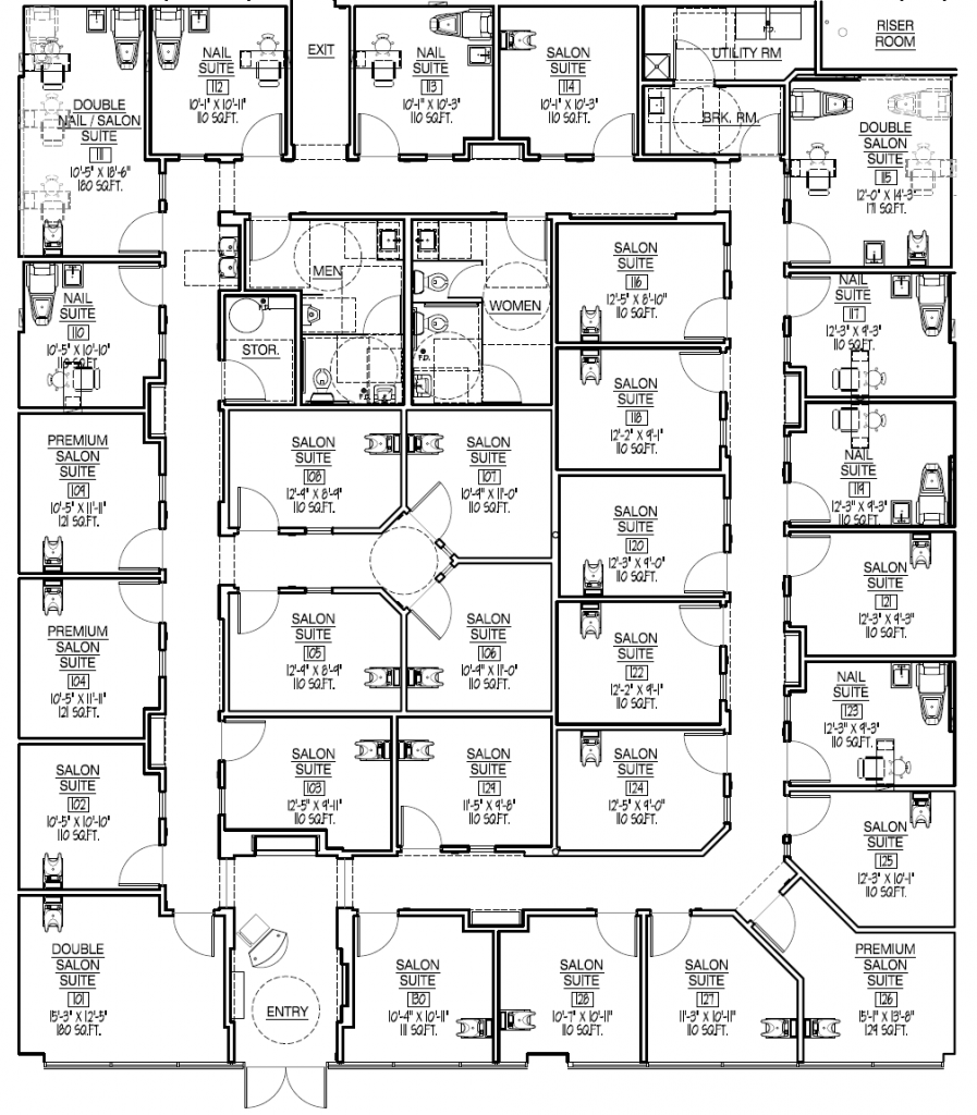 Design A Spa Room Layout
